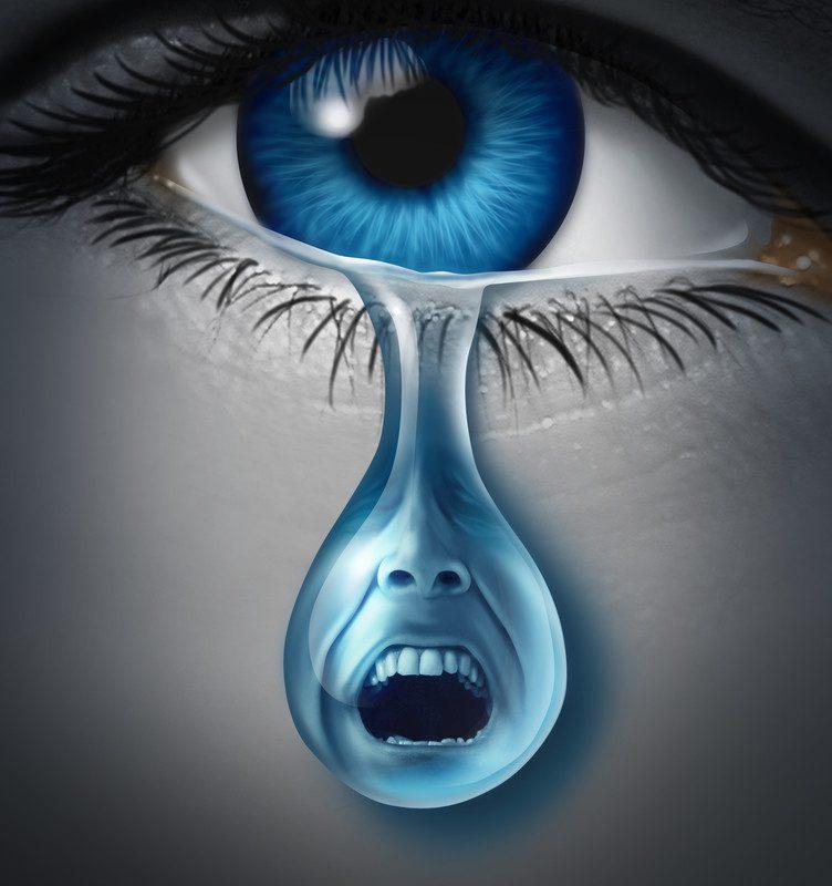 Por que choro quando estou com raiva